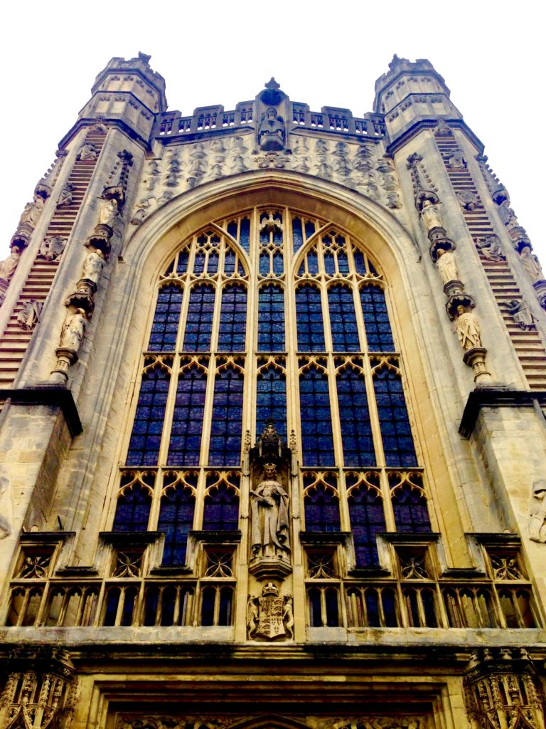 Bath Abbey Entrance