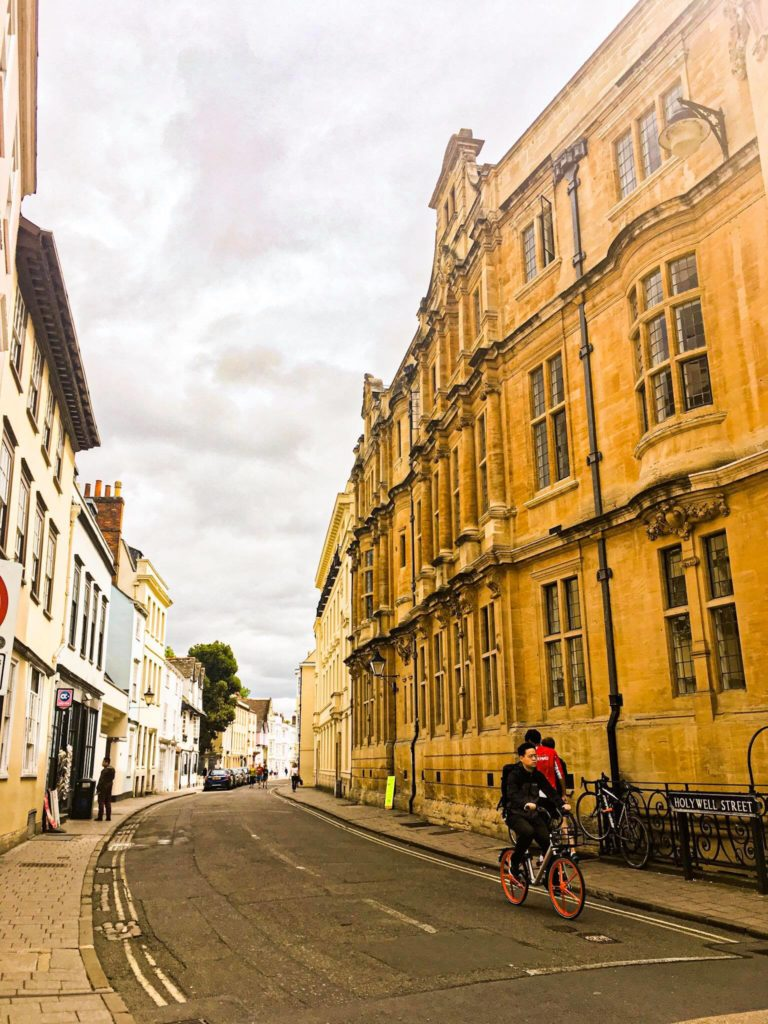Visit to oxford