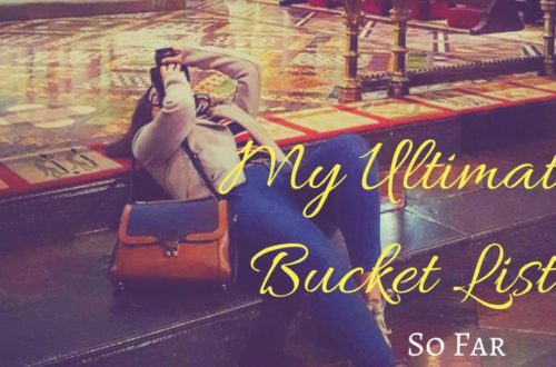 My Ultimate Travel Bucket List