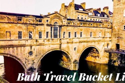 Bath Travel Bucket List
