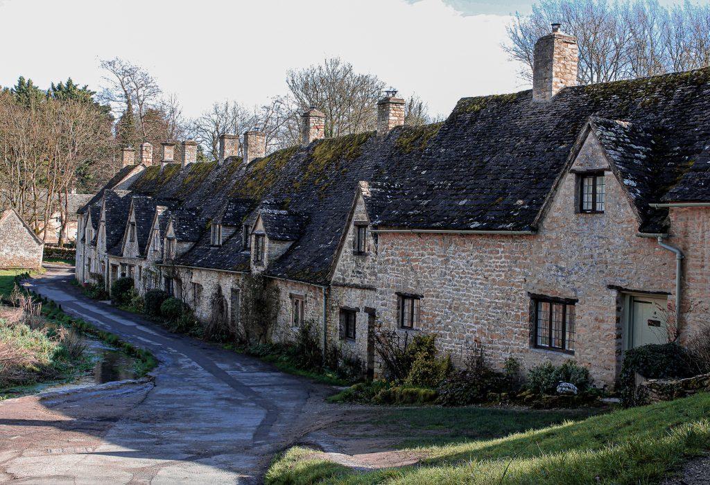 Arlington Row - prettiest villages in the Cotswolds