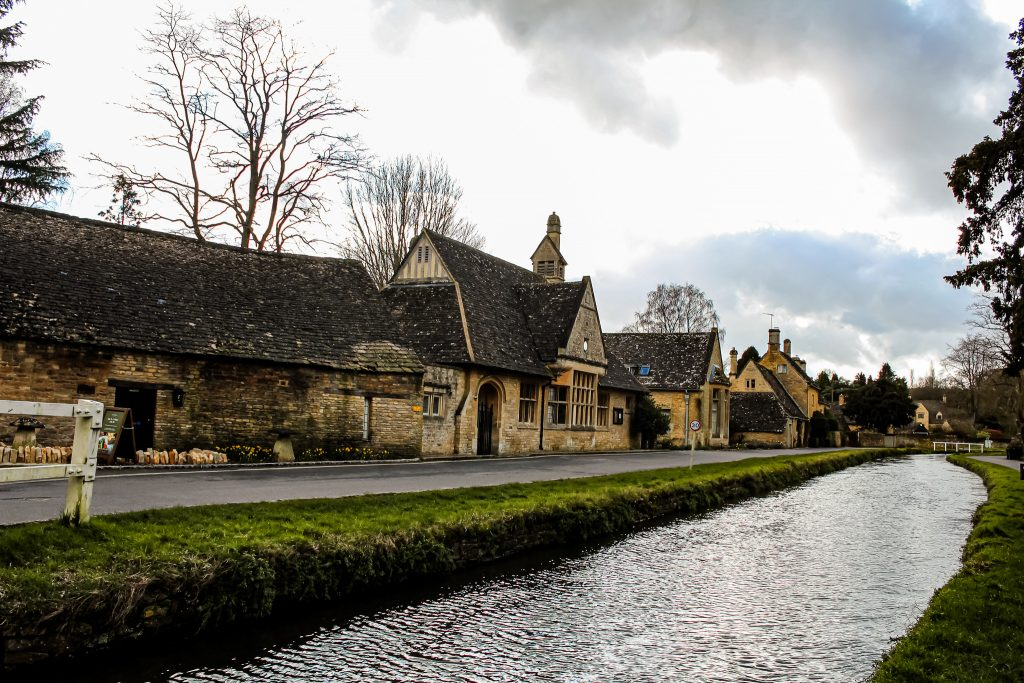Lower Slaughter river in the Cotswolds