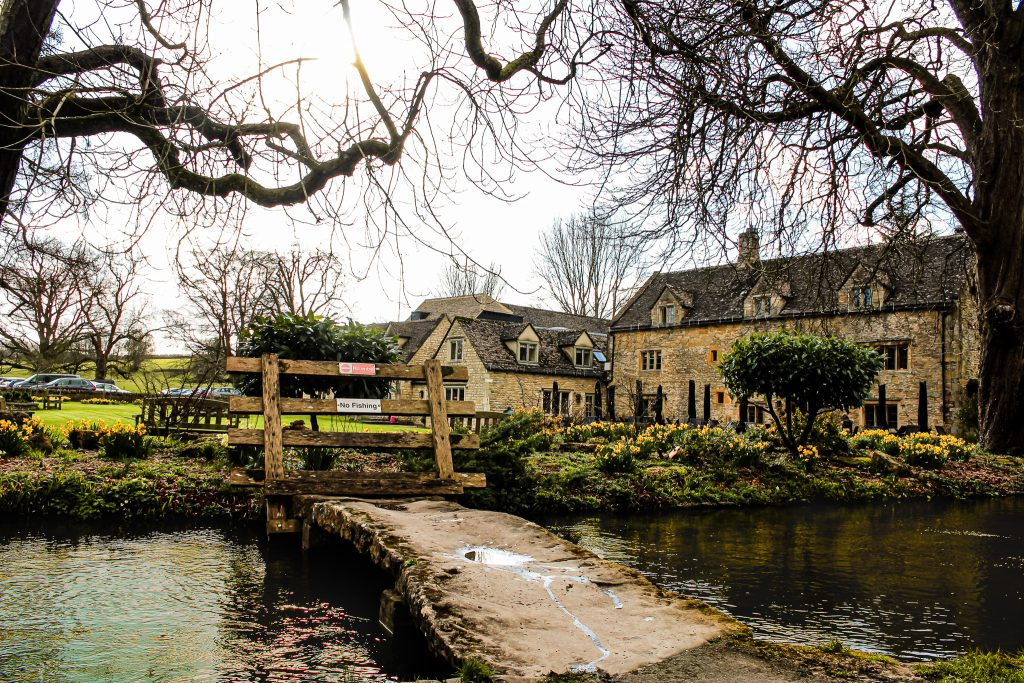 Lower Slaughter inn - the Cotswolds