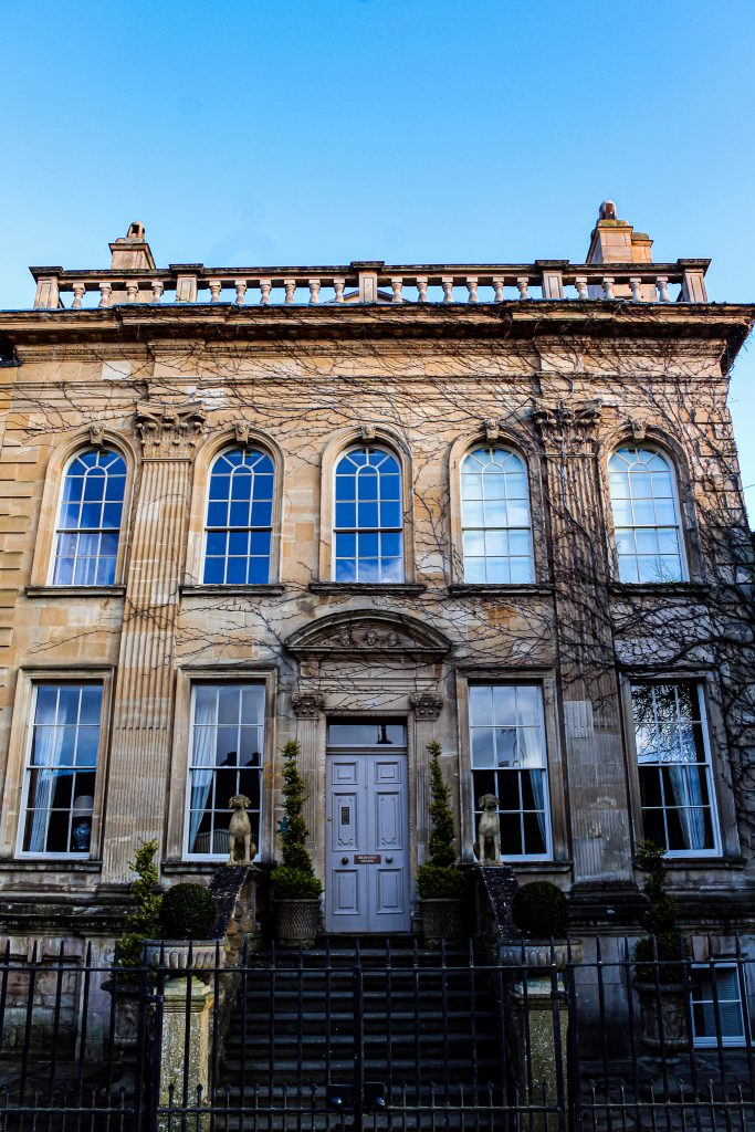 Regency architecture in Chipping Campden