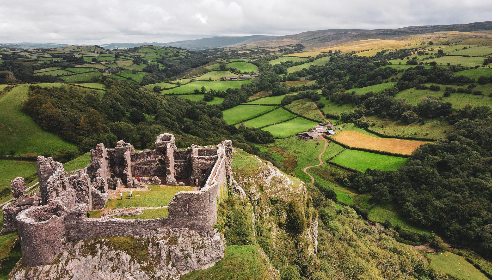 Best castles in Wales