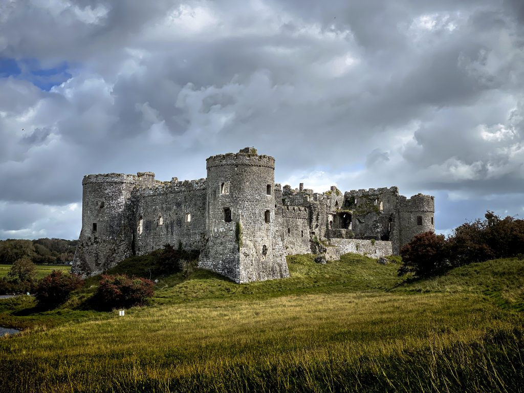 Castles in South Wales