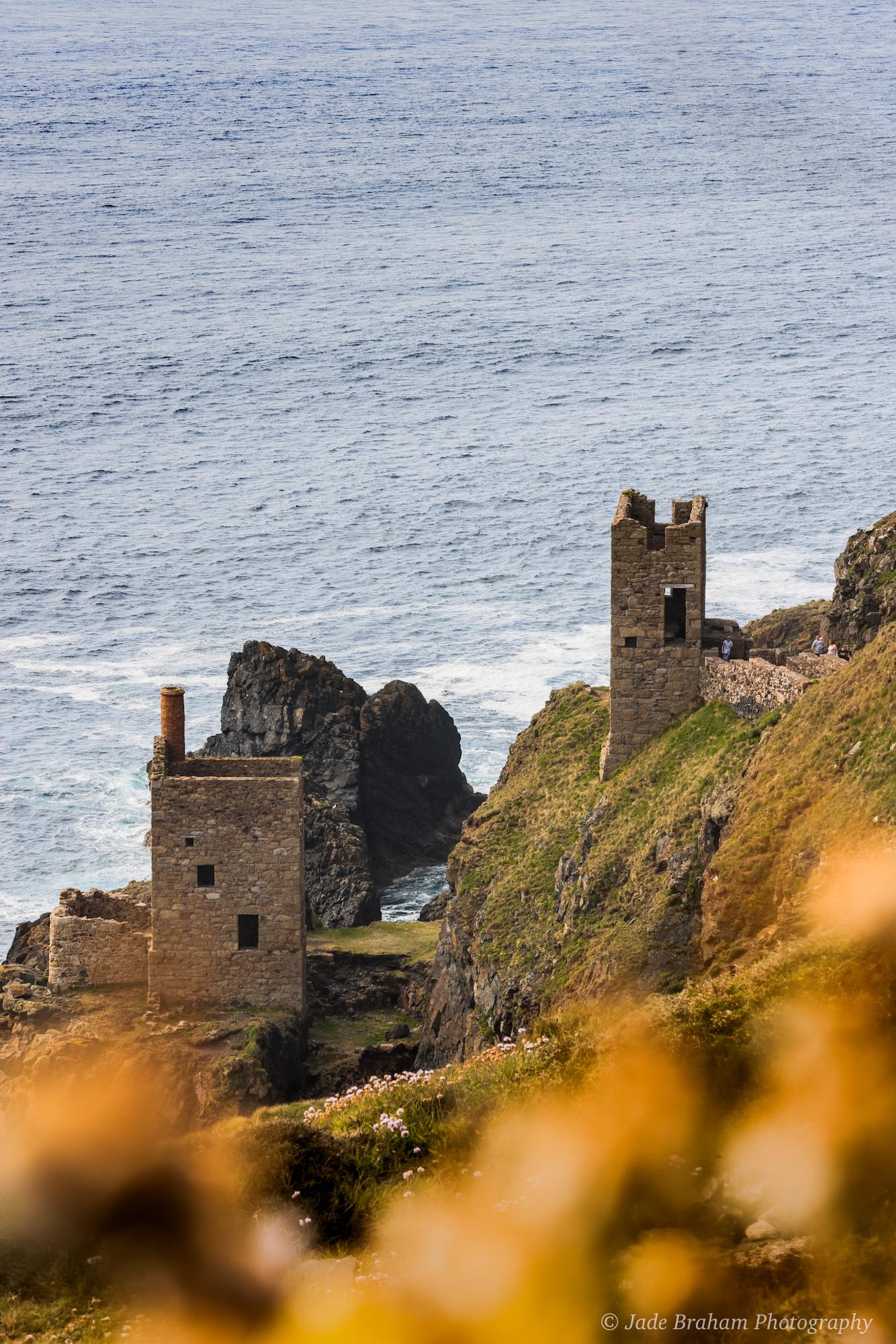 Botallack Mine, National Trust in Cornwall