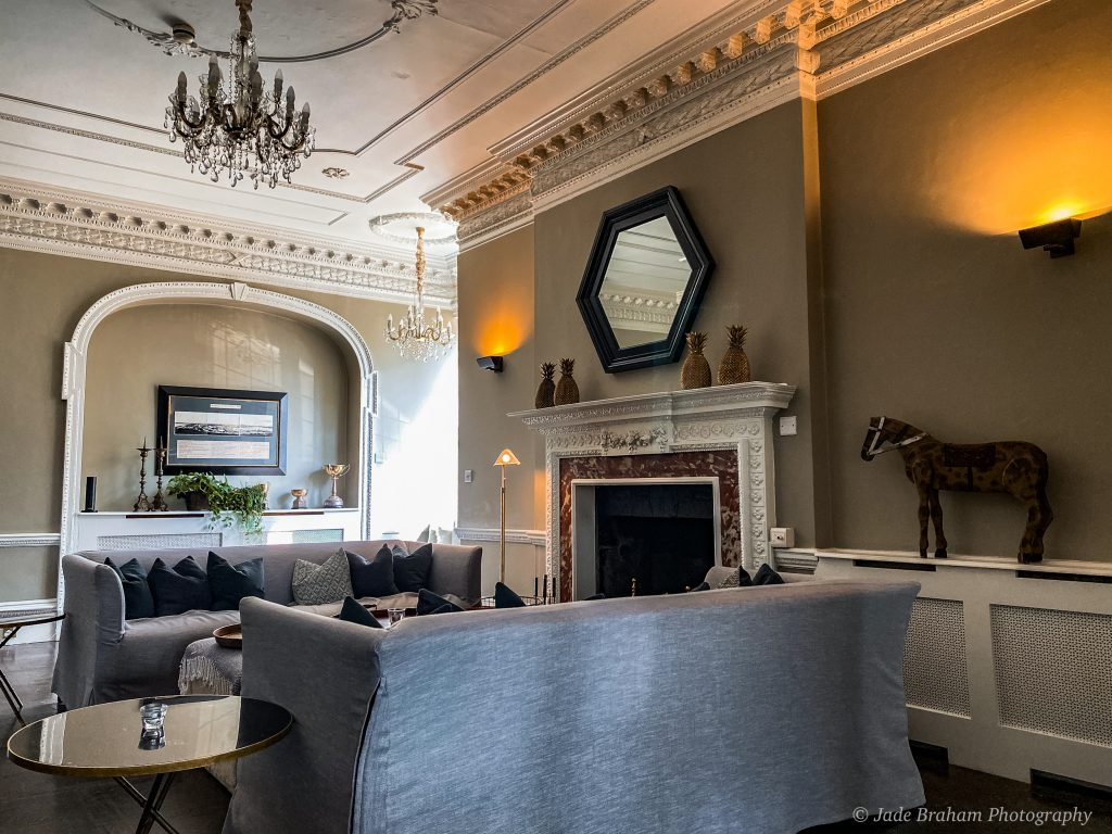 The dining room at the Merchants Manor House in Falmouth