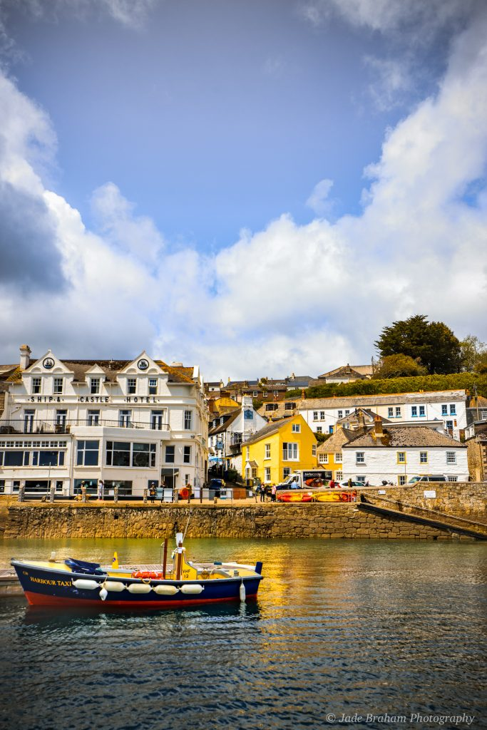 St Mawes in Cornwall Harbour